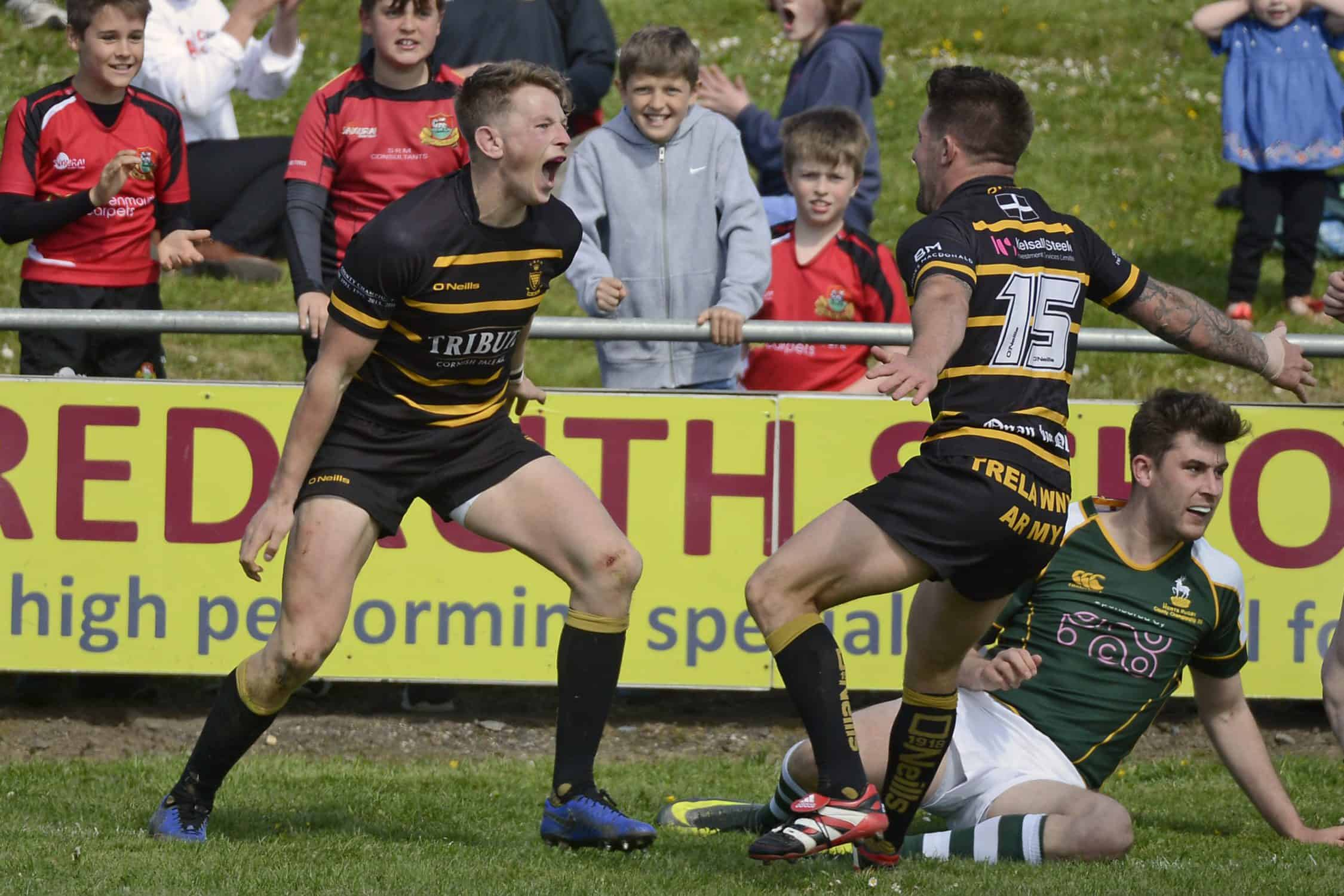 Cornwall v Hertfordshire, Redruth UK – 11 May 2019