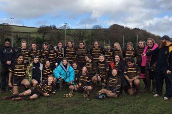 Cornwall Girls U.18s at Okehampton College